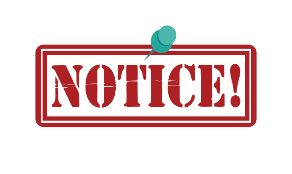 Notice – All Students